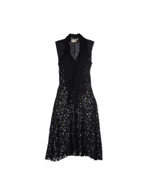 Dkny Pure | Женское Чёрное Платье До Колена