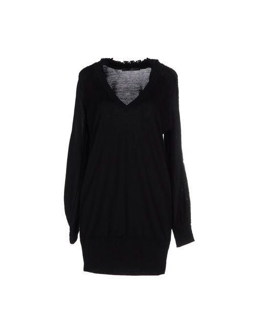 Sly010 | Женское Чёрное Короткое Платье
