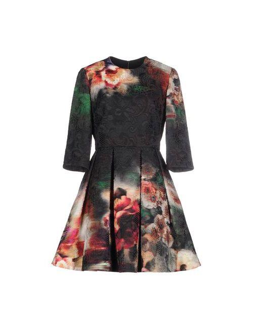 Elie Saab | Женское Чёрное Короткое Платье
