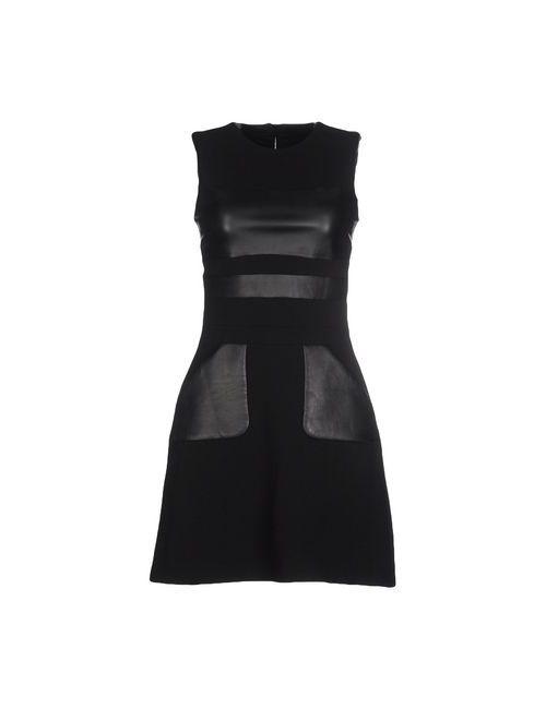 David Koma | Женское Чёрное Короткое Платье