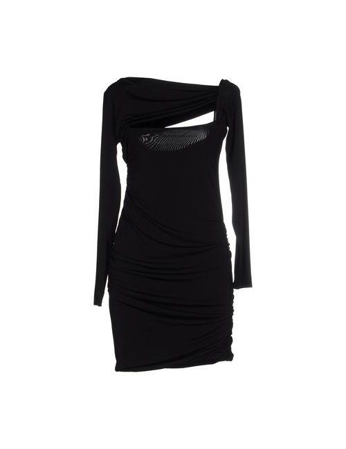Pierre Balmain | Женское Чёрное Короткое Платье