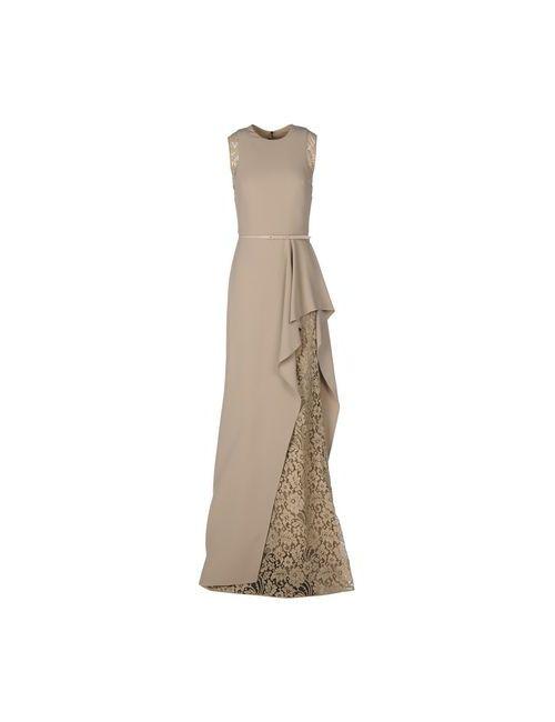 Elie Saab | Женское Телесное Длинное Платье