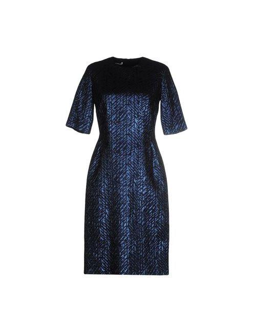 Les Copains | Женское Синее Короткое Платье
