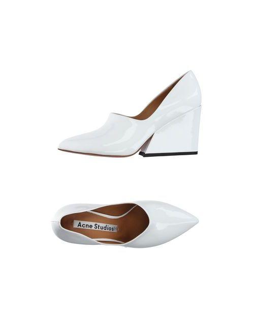 Acne | Женские Белые Туфли