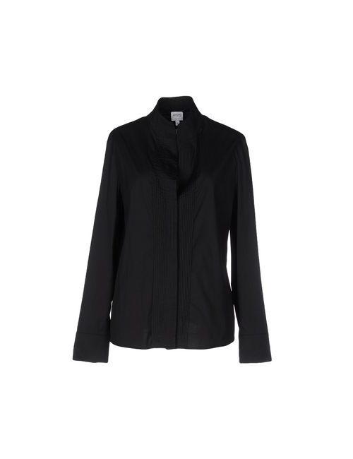 Armani Collezioni | Мужская Черный Pубашка
