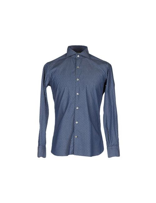 Domenico Tagliente | Мужская Синяя Pубашка