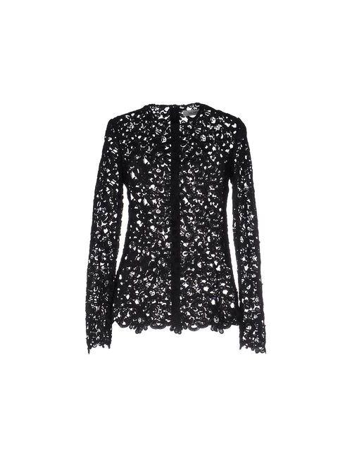 Valentino | Женская Чёрная Блузка