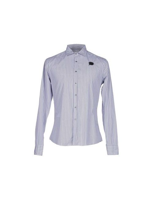 Sapore | Мужская Синяя Pубашка