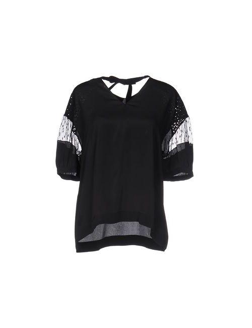 No21 | Женская Черный Блузка