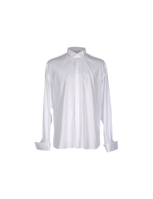 Canali | Мужская Белая Pубашка