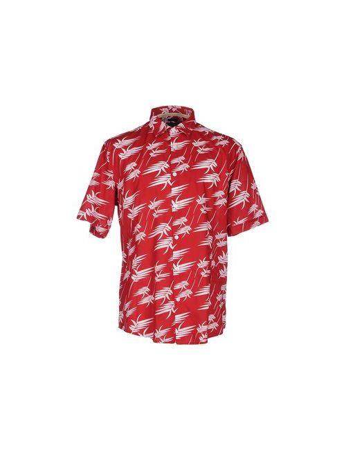 ARMANI JEANS | Мужская Красная Pубашка