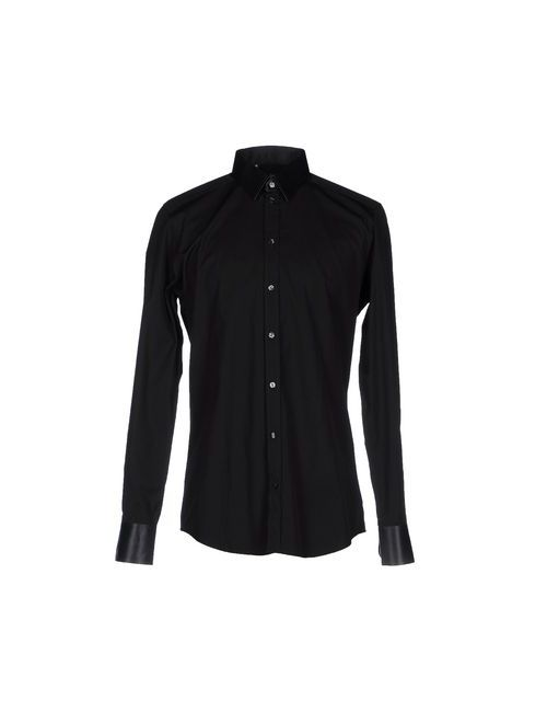 Dolce & Gabbana | Мужская Чёрная Pубашка