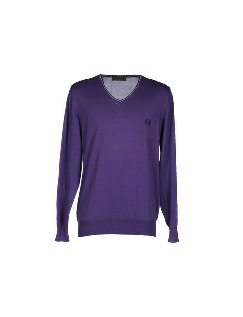 Fred Perry | Фиолетовый Свитер