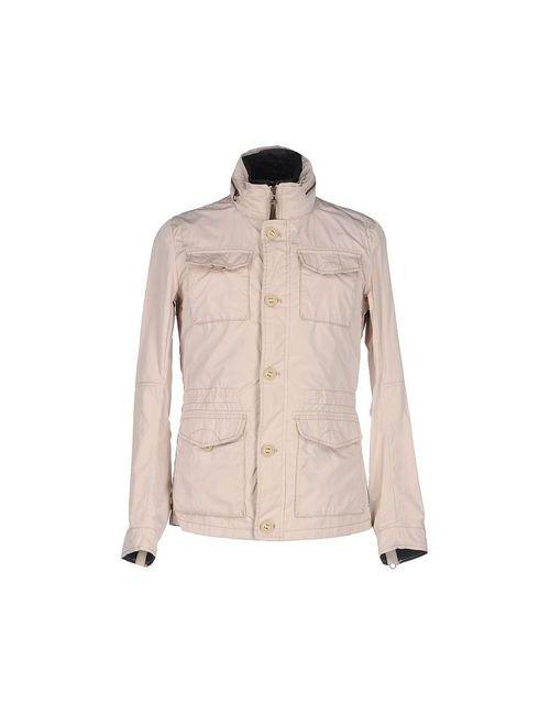 ARMANI JEANS | Мужская Бежевая Куртка