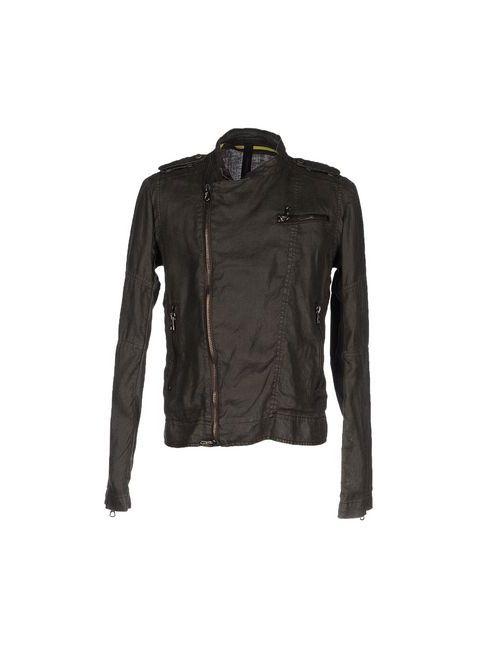 Messagerie | Мужская Зелёная Куртка