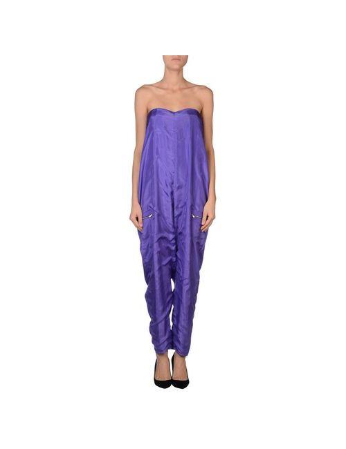 C'N'C' Costume National | Женский Фиолетовый Брючный Комбинезон
