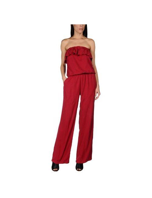 Liu •Jo Jeans   Женские Красные Комбинезоны Без Бретелей