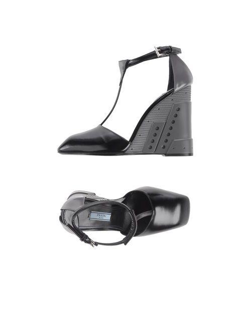 Prada | Женские Чёрные Туфли