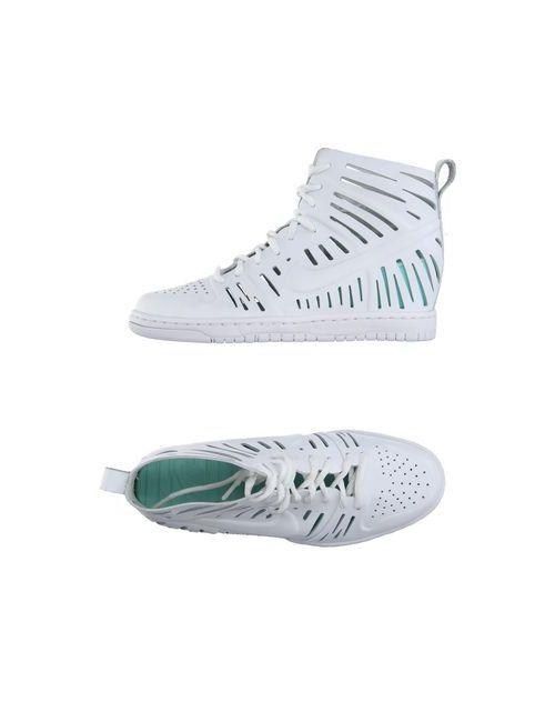 Nike | Женские Белые Высокие Кеды И Кроссовки