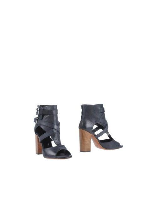 Spaziomoda | Женские Чёрные Полусапоги И Высокие Ботинки