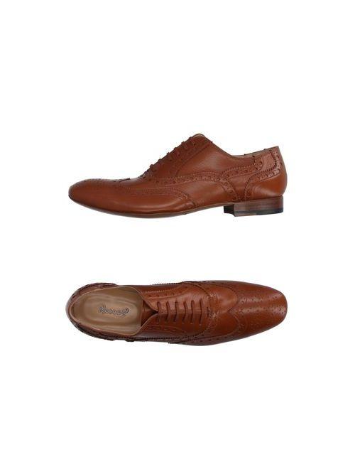 Rocco P.   Мужская Коричневая Обувь На Шнурках