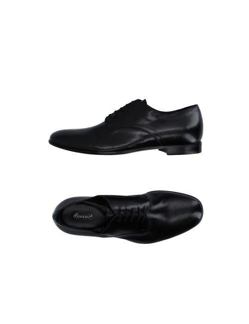 Rocco P. | Мужская Черный Обувь На Шнурках