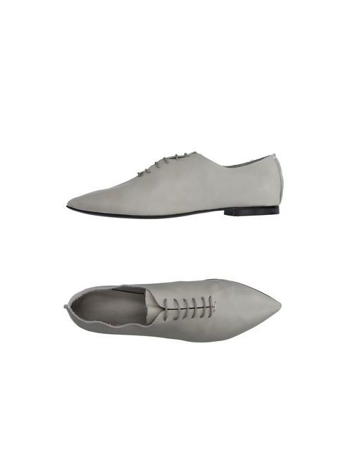 Griff Italia | Мужская Серая Обувь На Шнурках