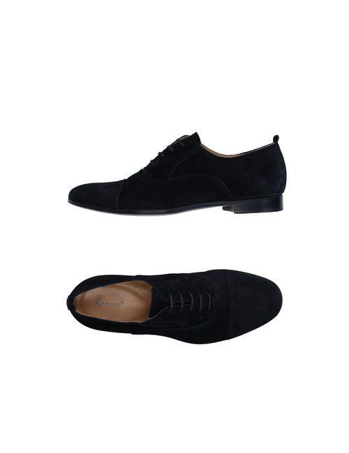 Rocco P. | Мужская Синяя Обувь На Шнурках