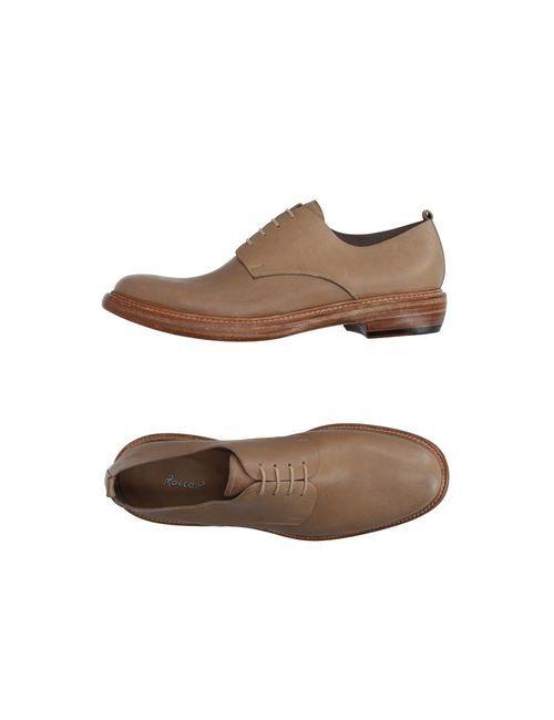 Rocco P. | Мужская Песочная Обувь На Шнурках