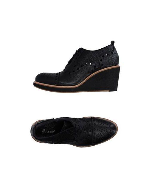 Rocco P. | Мужская Чёрная Обувь На Шнурках