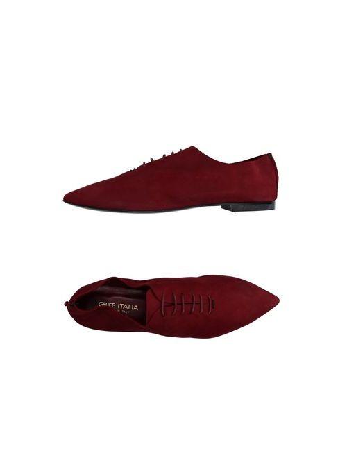 Griff Italia | Мужская Коричневая Обувь На Шнурках