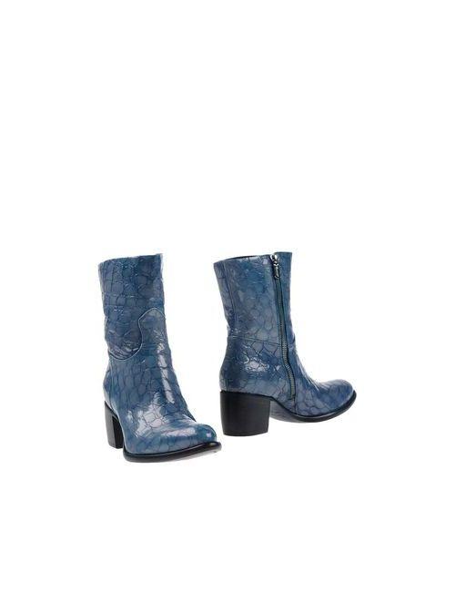 Rocco P. | Женские Синие Полусапоги И Высокие Ботинки