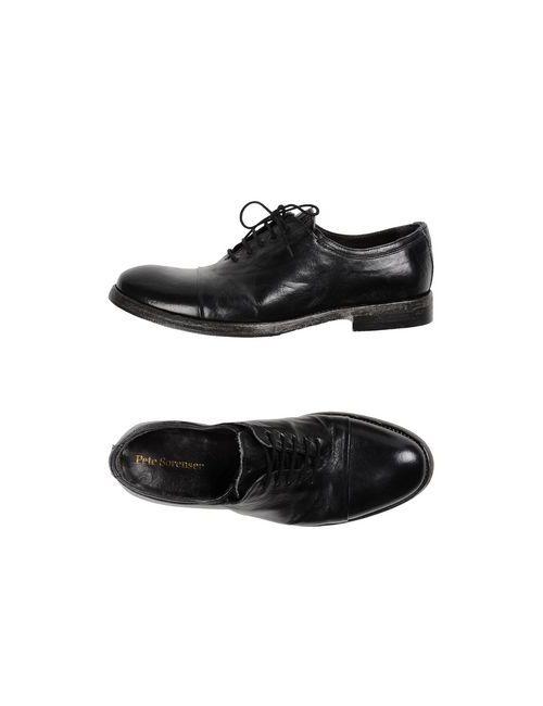 PETE SORENSEN | Мужская Чёрная Обувь На Шнурках