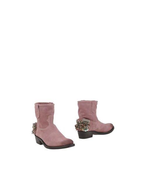 Twin-Set Simona Barbieri | Женские Розовые Полусапоги И Высокие Ботинки