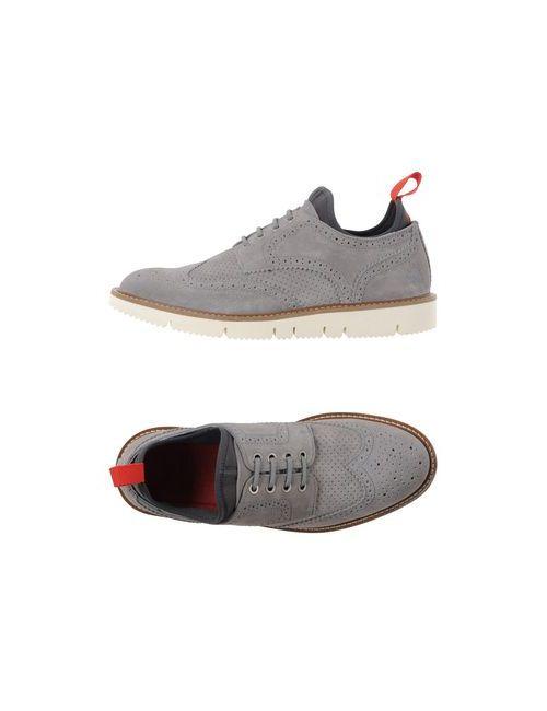 Wesc | Мужская Серая Обувь На Шнурках