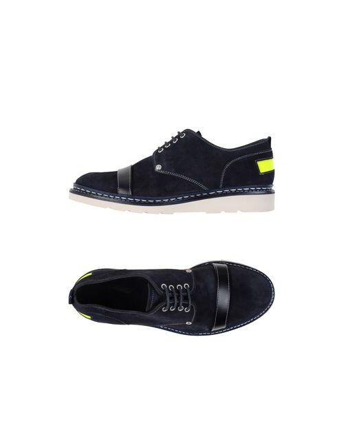 Ateliers Heschung | Мужская Синяя Обувь На Шнурках