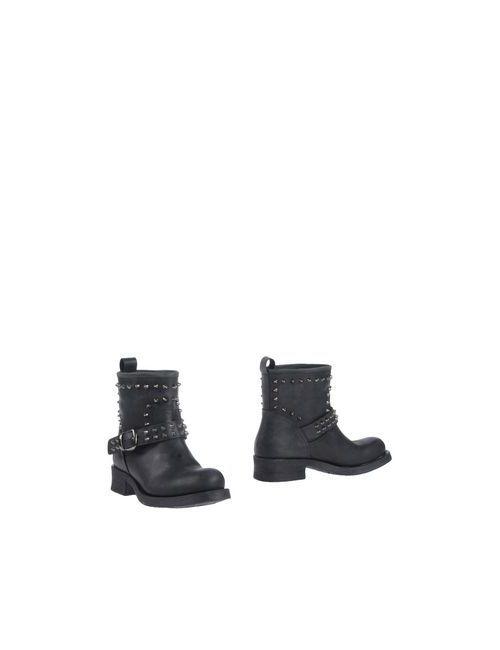 Scee By Twin-Set | Женские Чёрные Полусапоги И Высокие Ботинки
