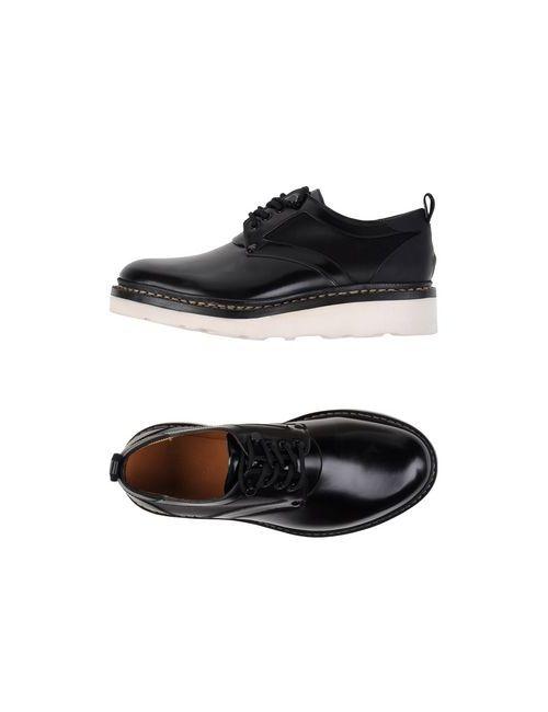 OAMC   Мужская Чёрная Обувь На Шнурках