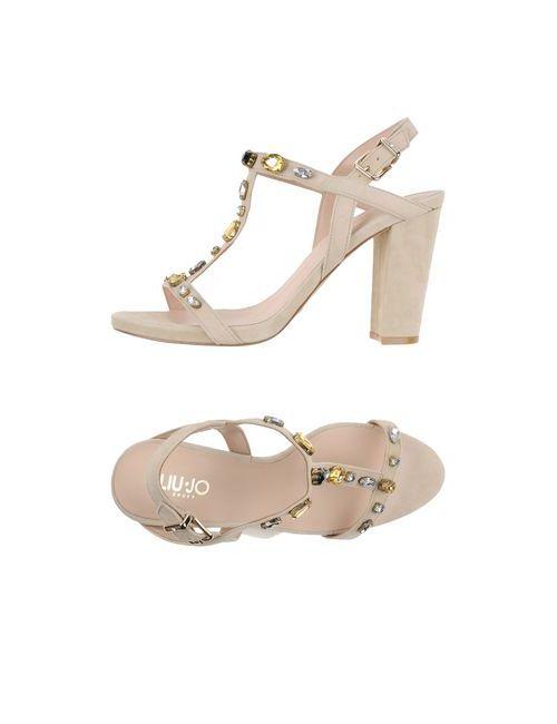Liu •Jo Shoes | Женские Бежевые Сандалии