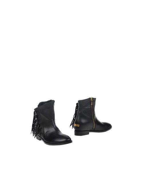 Liu •Jo Shoes | Женские Чёрные Полусапоги И Высокие Ботинки