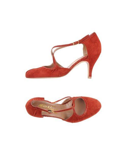 Nora | Женские Красные Туфли