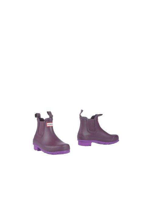 Hunter | Женские Фиолетовые Полусапоги И Высокие Ботинки
