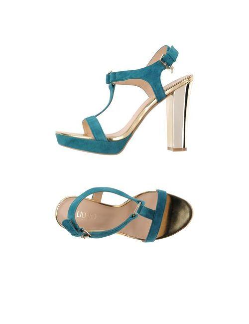 Liu •Jo Shoes | Женские Цвет Морской Волны Сандалии