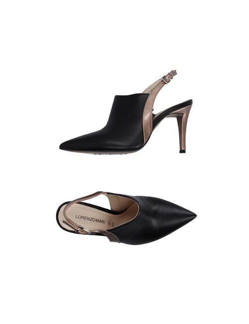 Lorenzo Mari | Женские Чёрные Туфли