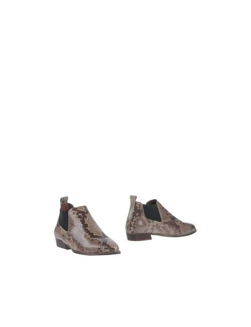 Stiù | Женские Серые Полусапоги И Высокие Ботинки