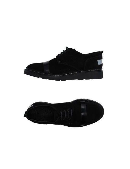 Ateliers Heschung | Мужская Чёрная Обувь На Шнурках