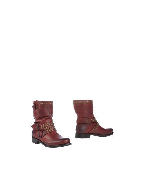 Frye | Женские Красные Полусапоги И Высокие Ботинки
