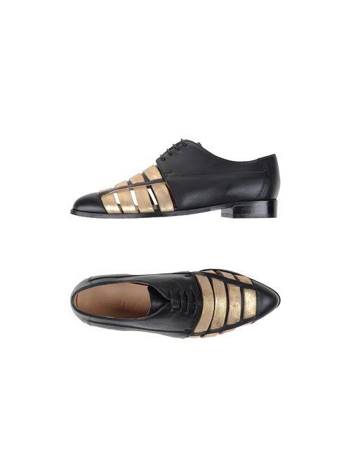 ANOTHER PROJECT | Мужская Чёрная Обувь На Шнурках