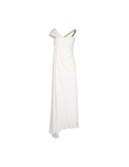 Blumarine | Женское Белое Длинное Платье