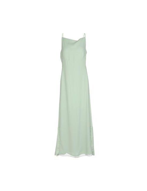 Max & Co. | Женское Зелёное Длинное Платье